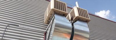 Ahorra usando sistemas de climatización evaporativa