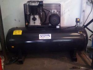 Aire comprimido-compresor de pistón