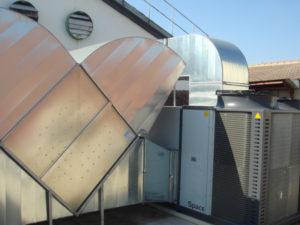 Extracción y renovación de aire