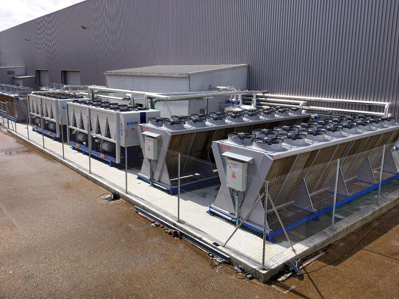 Refrigeración prensas
