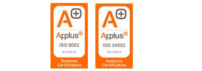 Certificados de gestion de calidad iso 9001 iso 14001