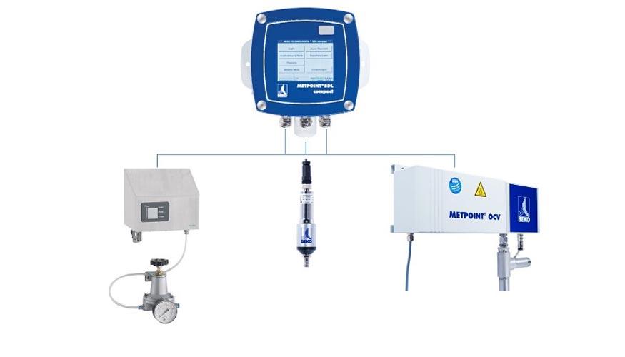 instrumentos medicion auditoria calidad aire comprimido