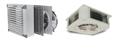 Aerotermos para climatización industrial