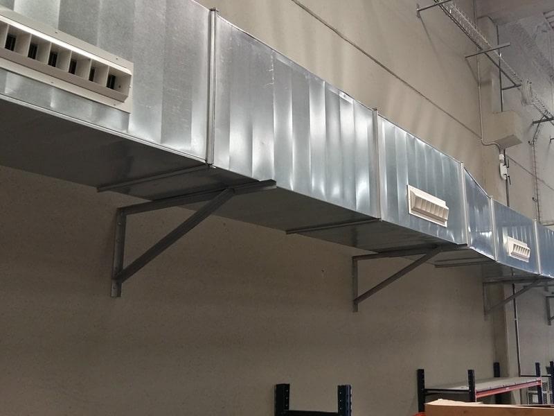 calefaccion industrial conductos