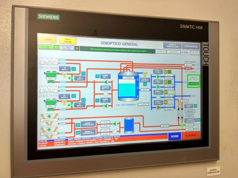 Control remoto instalaciones frigorificas