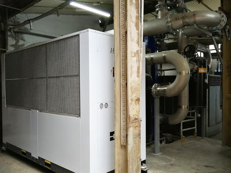 enfriadora secado aire comprimido industrial