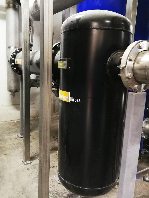 secador secado aire comprimido industrial
