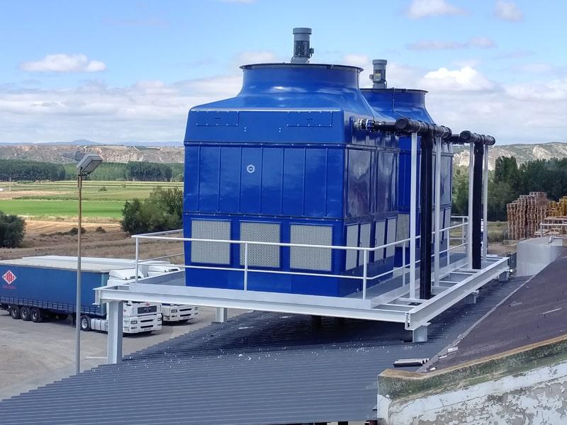 instalacion torre refrigeracion