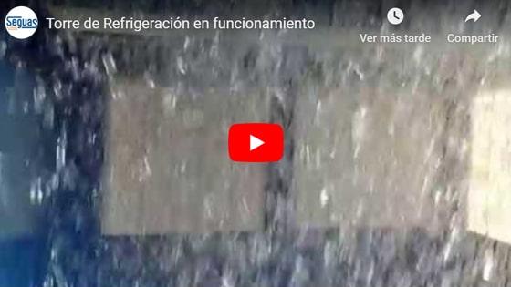 funcionamiento torre de refrigeracion