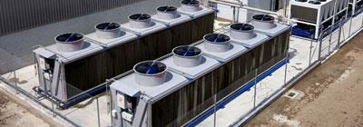 Usos del agua en refrigeración y climatización industrial