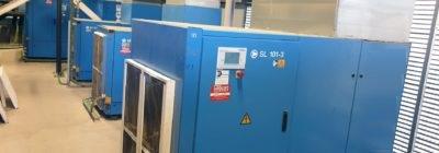 Mantenimiento preventivo de compresores de aire industrial