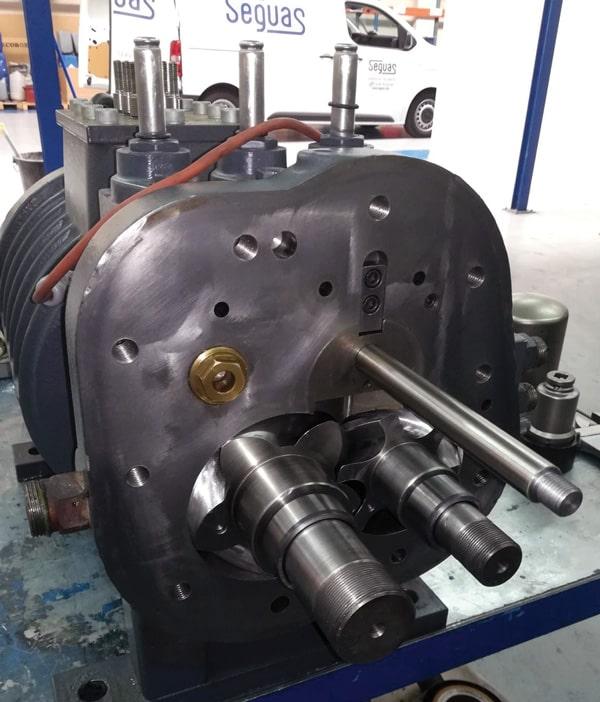 Mantenimiento preventivo compresores aire industrial