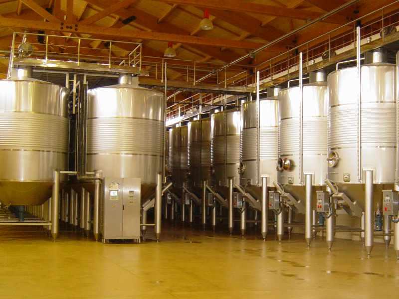 Depositos Fermentacion vino