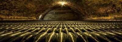 Tunel bodega vino