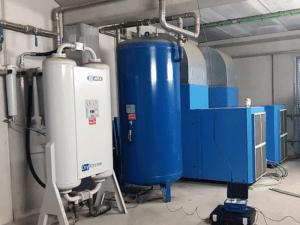 aire comprimido -tratamiento -secadores