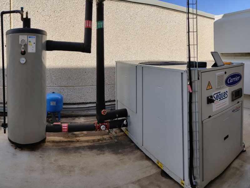 climatizacion industrial enfriadora y bomba de calor